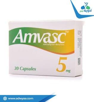 أمفاسك كبسولات ( AMVASC )