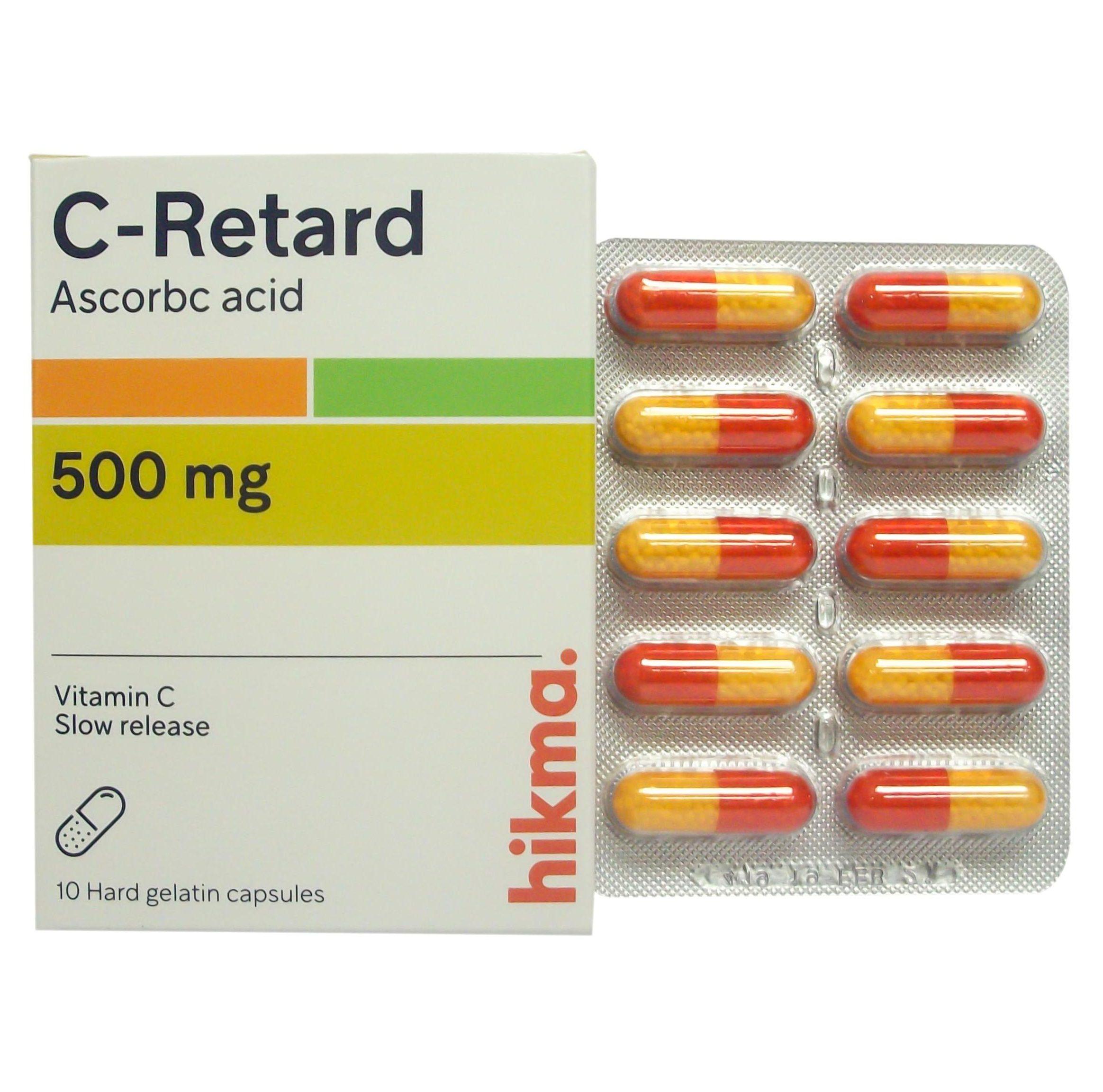 سي ريتارد (C-Retard) لعلاج نزلات البرد والانفلونزا
